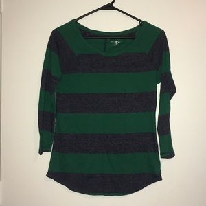Merona striped blouse